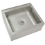 Advance Tabco 9OP44 Mop Sink Floor Mount 29 Length x 29 Deep with Three Sided Splash