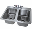 Advance Tabco DI210 Drop In Sink 2 Compartment