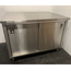 Elkay Foodservice C36X48STDS Work Table with Cabinet Base Stainless 48 Long x 36 Deep