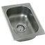 Eagle Group SR1416951 Drop In Sink One Compartment 14 Length x 16 Front to Back Faucet Not Included