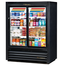 True GDM33CPT54LD Refrigerated Glass Door Merchandiser Pass Thru 2 Sliding Doors DAMAGED