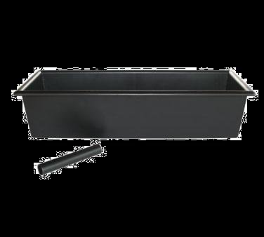 Bar MaidGlass Pro CR760 Bar Drain Tray 14L x 5W x 3D black