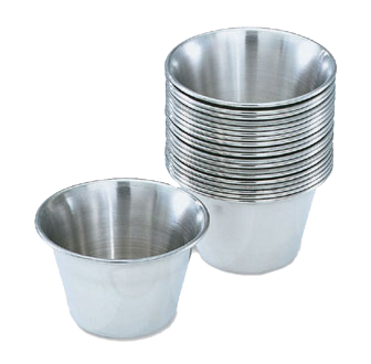 Vollrath 46713 Sauce Cup 3oz stainless steel